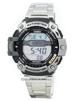 Casio Sports Altimeter Thermometer SGW-300HD-1AVDR SGW-300HD-1 SGW300HD Watch
