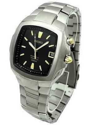 Seiko Kinetic Titanium Mens Watch SKA361P1 SKA361P SKA361