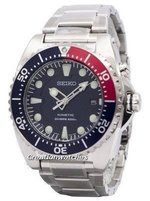 Seiko Kinetic Diver's 200M SKA369 SKA369P1 SKA369P Men's Watch
