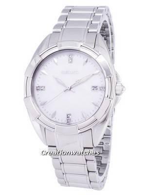Seiko Quartz Diamond Accents SKK885 SKK885P1 SKK885P Women's Watch