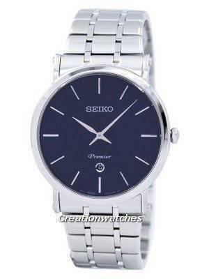 Seiko Premier Quartz Analog SKP399 SKP399P1 SKP399P Men's Watch