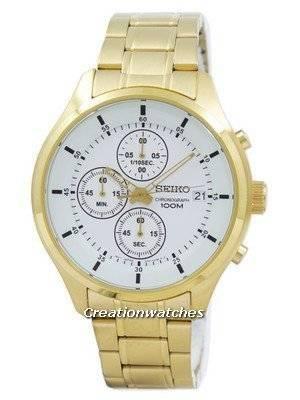 Seiko Chronograph Quartz SKS544 SKS544P1 SKS544P Men's Watch
