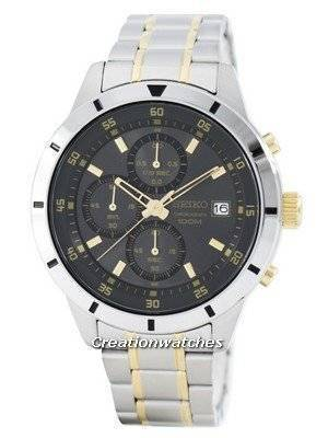 Seiko Quartz Chronograph SKS565 SKS565P1 SKS565P Men's Watch