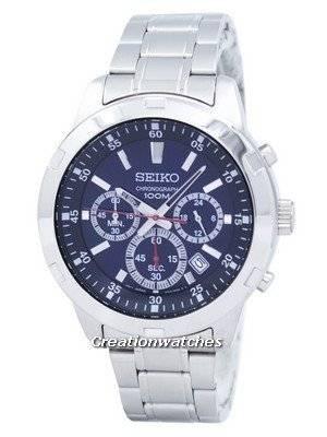 Seiko Neo Sports Chronograph Quartz SKS603 SKS603P1 SKS603P Men's Watch