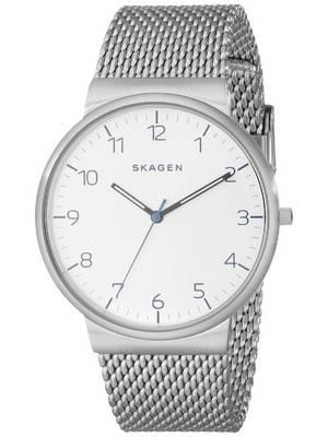 Skagen Ancher Quartz Silver Dial SKW6163 Men's Watch