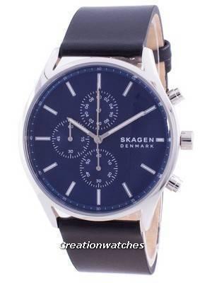 Skagen Holst Chronograph Blue Dial Quartz SKW6606 Men\'s Watch