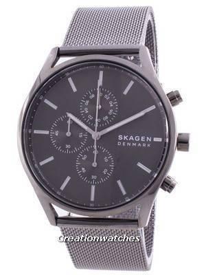 Skagen Holst Chronograph Grey Dial Quartz SKW6608 Men\'s Watch