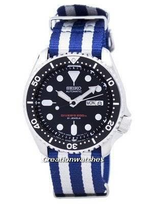 Seiko Automatic Diver's 200M NATO Strap SKX007J1-NATO2 Men's Watch