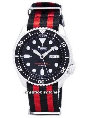 Seiko Automatic Diver's 200M NATO Strap SKX007J1-NATO3 Men's Watch