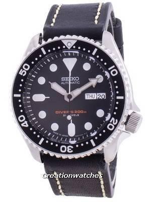 Seiko Automatic Diver\'s Black Dial SKX007J1-var-LS16 200M Men\'s Watch