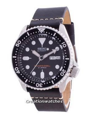 Seiko Automatic Diver\'s SKX007J1-var-LS20 200M Japan Made Men\'s Watch