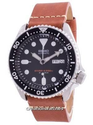 Seiko Automatic Diver\'s SKX007J1-var-LS21 200M Japan Made Men\'s Watch