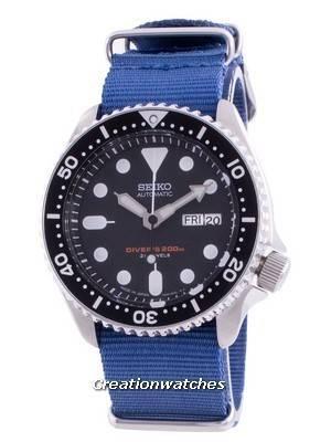 Seiko Automatic Diver\'s SKX007J1-var-NATO8 200M Japan Made Men\'s Watch