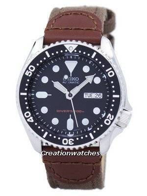 Seiko Automatic Diver's Canvas Strap SKX007K1-NS1 200M Men's Watch