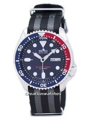 Seiko Automatic Diver's NATO Strap 200M SKX009J1-NATO1 Men's Watch