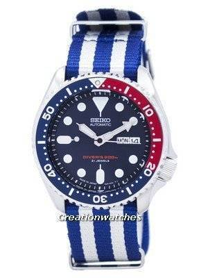 Seiko Automatic Diver's 200M NATO Strap SKX009J1-NATO2 Men's Watch