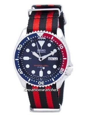 Seiko Automatic Diver's 200M NATO Strap SKX009J1-NATO3 Men's Watch