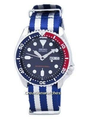 Seiko Automatic Diver's 200M NATO Strap SKX009K1-NATO2 Men's Watch