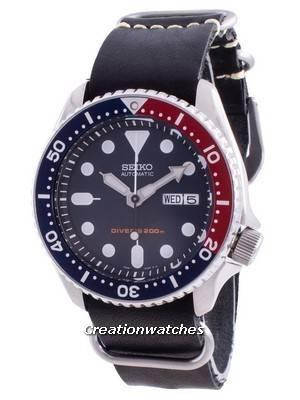 Seiko Automatic Diver\'s Deep Blue SKX009K1-var-LS19 200M Men\'s Watch