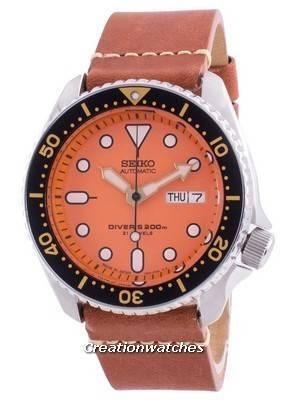 Seiko Automatic Diver\'s SKX011J1-var-LS21 200M Japan Made Men\'s Watch