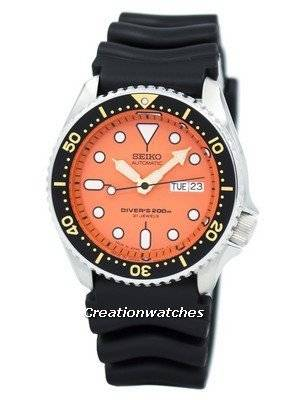 Seiko Automatic Diver s 200m Japan-made SKX011 SKX011J1 SKX011J Men s Watch 408200625