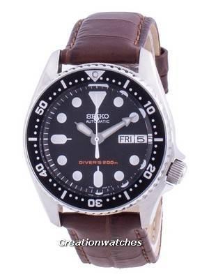 Seiko Automatic Diver\'s Black Dial SKX013K1-var-MS11 200M Men\'s Watch