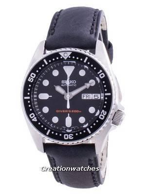 Seiko Automatic Diver\'s Black Dial SKX013K1-var-MS12 200M Men\'s Watch
