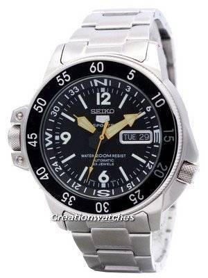 Seiko 5 Automatic Map Meter SKZ211 SKZ211K1 SKZ211K Men's Watch