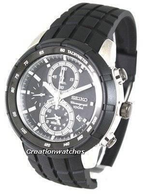 Seiko Chronograph Tachymeter Sports SNAD85P1 SNAD85P Mens Watch