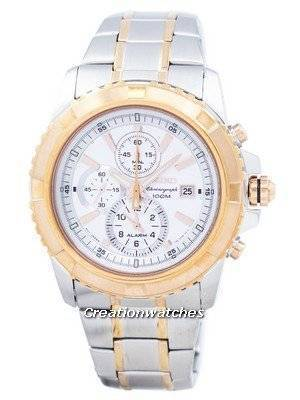 Seiko Chronograph Alarm Quartz SNAE08 SNAE08P1 SNAE08P Men\'s Watch