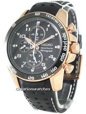 Seiko Sportura Chronograph SNAE80P1 SNAE80P Mens Watches