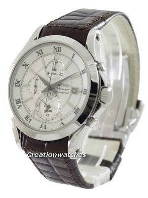 Seiko Premier Chronograph SNAF21P1 SNAF21P SNAF21 Men\'s Watch