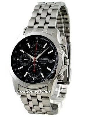 Seiko Chronograph Tachymeter SNDC13P1 SNDC13P SNDC13 Men's Watch