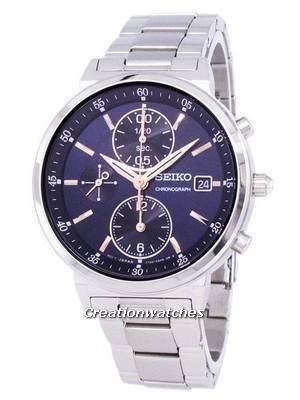 Seiko Chronograph Quartz SNDV21 SNDV21P1 SNDV21P Women's Watch