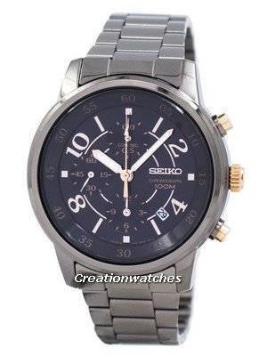 Seiko Chronograph Quartz SNDW83 SNDW83P1 SNDW83P Women's Watch