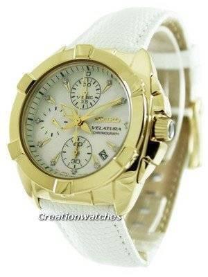 Relógio Seiko Velatura Cronógrafo SNDY22P1 SNDY22P Mulher