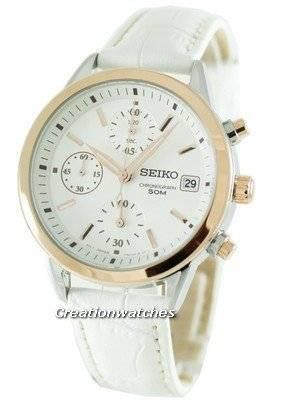 Seiko Quartz Chronograph SNDY42P2 SNDY42 SNDY42P Womens Watch