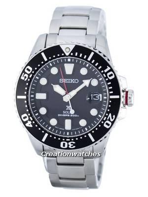Seiko Prospex Solar Diver 200M SNE437SNE437P1 SNE437P Men Watch