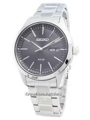 Seiko Conceptual SNE527P SNE527P1 SNE527 Analog Solar Men's Watch