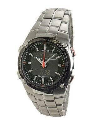 Seiko Sportura Chronograph World Timer SNJ005P1 SNJ005P SNJ005