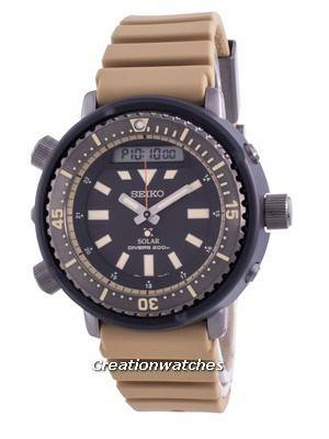 Seiko Prospex Street Series Diver\'s Solar SNJ029 SNJ029P1 SNJ029P 200M Men\'s Watch