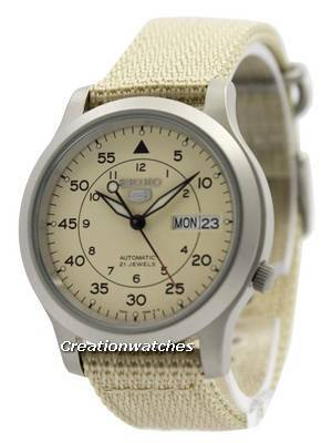 Seiko 5 Military Automatic Nylon Strap SNK803K2 Men\'s Watch