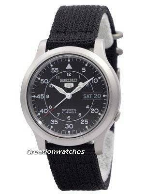 Seiko 5 Military Automatic Nylon SNK809K2 Men's watch