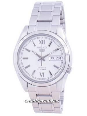 Seiko 5 Automatic Silver Dial SNKL51 SNKL51K1 SNKL51K Men\'s Watch