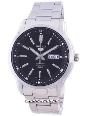 Seiko 5 Automatic Black Dial SNKP11 SNKP11K1 SNKP11K Men\'s Watch
