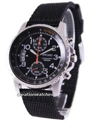 Seiko Tachymeter Chronograph SNN079P2 Men's Watch