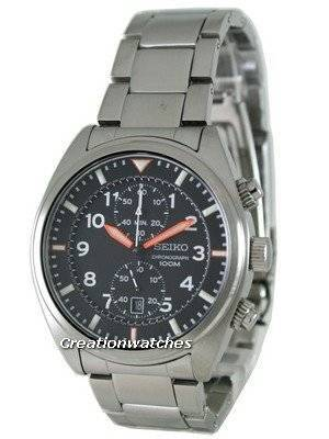 Seiko Chronograph Sports SNN235P1 SNN235P Mens Watch