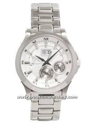 Seiko Premier Kinetic Perpetual Calendar SNP001P1 SNP001P SNP001 Men's Watch
