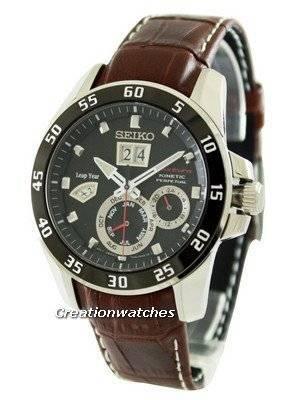 Relógio Seiko Sportura Kinetic Perpetual SNP055P2 para homem
