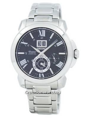 Seiko Premier Kinetic Perpetual Calendar SNP141 SNP141P1 SNP141P Men's Watch